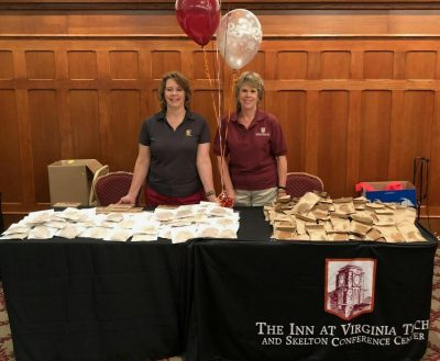 The Inn at Virginia Tech at Staff Appreciation Day.