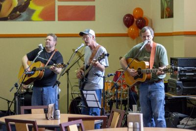 The Half Throttle Band entertained at this year's Staff Appreciation Day.